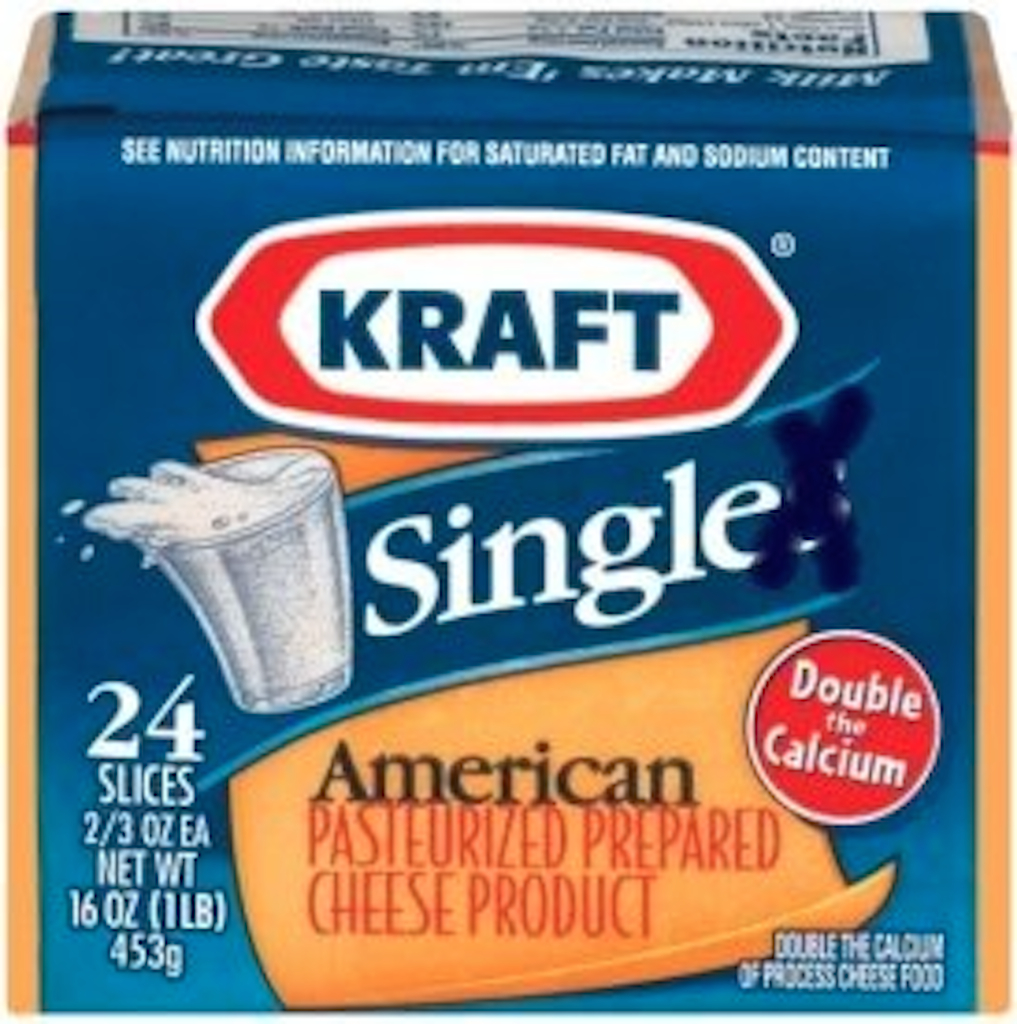 how are cheese singles made