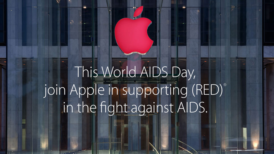 Apple-(RED)-campaign-to-help-AIDS-patients
