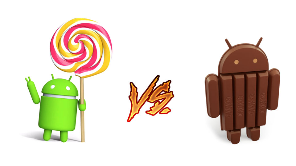 Google-Android-Lollipop-vs-Android-KitKat