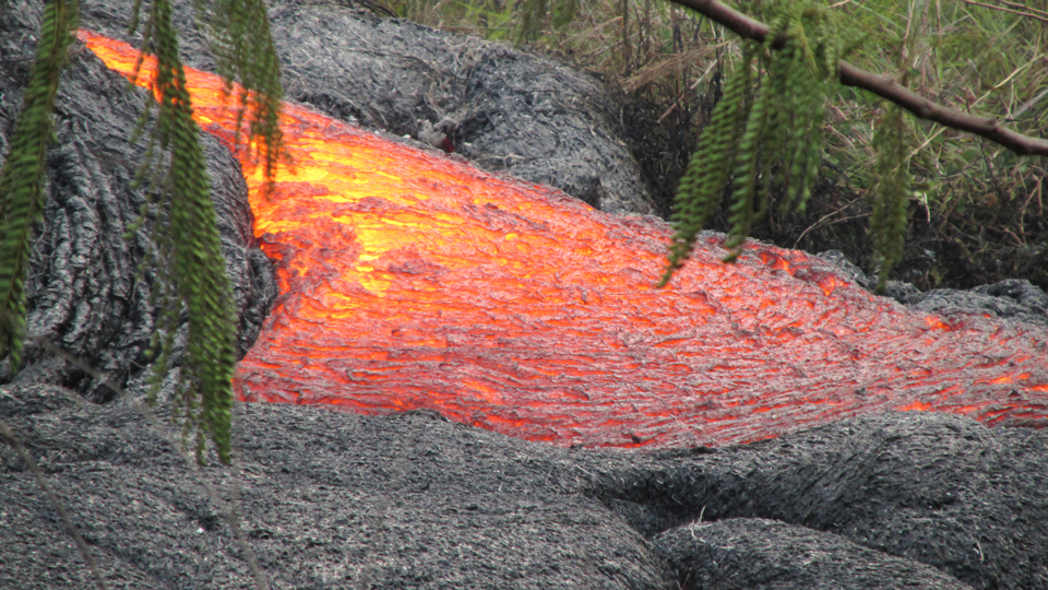 Lava-in-Hawaii