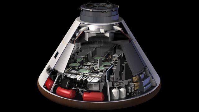Orion spacecraft ESA hands over service module to NASA