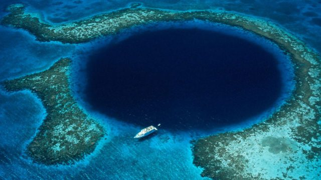 100 year drought killed most advanced civilization, Belize's Blue ...