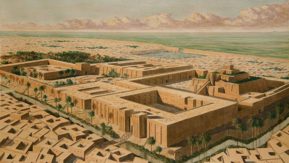 Ancient-City-vs-Modern-City