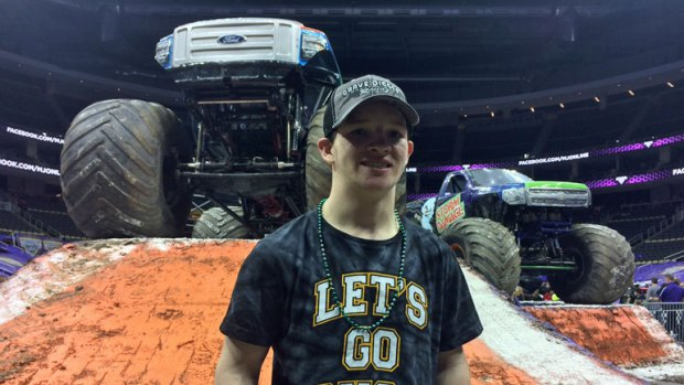 Monster Jam winner Logan McGinnis