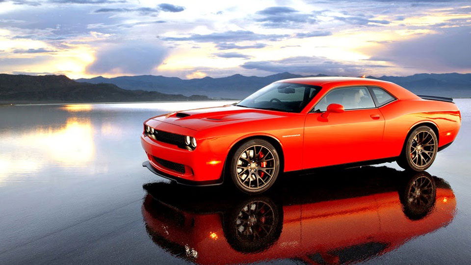 Dodge-Challenger-suspended