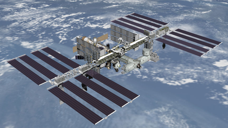 NASA-and-Russia-building-Space-Station