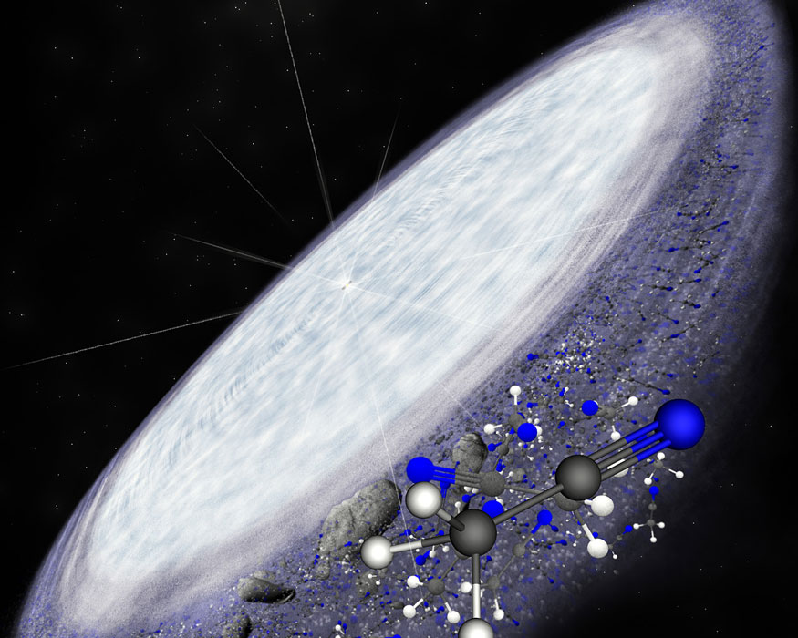 Organic-Molecules-Discovered-in-Infant-Star-System