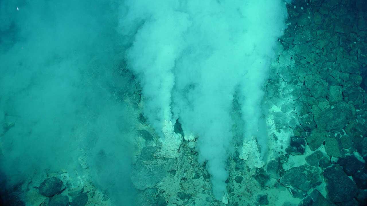 Sea-floor-hot-vents
