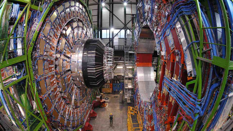 CERN-Large-Hadron-Collider-Muons