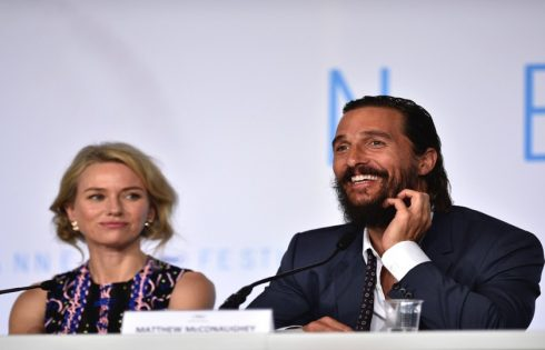 Naomi Watts and Matthew McConaughey at Cannes Film Fest
