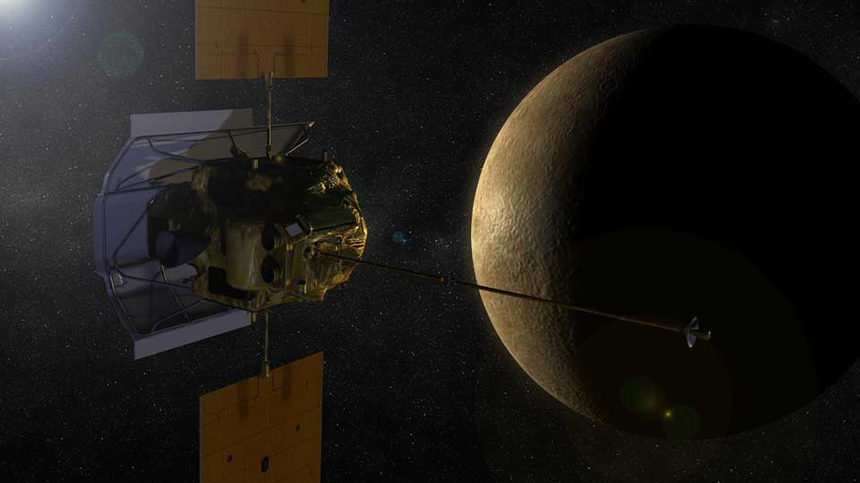 NASA-Messenger-Mercury
