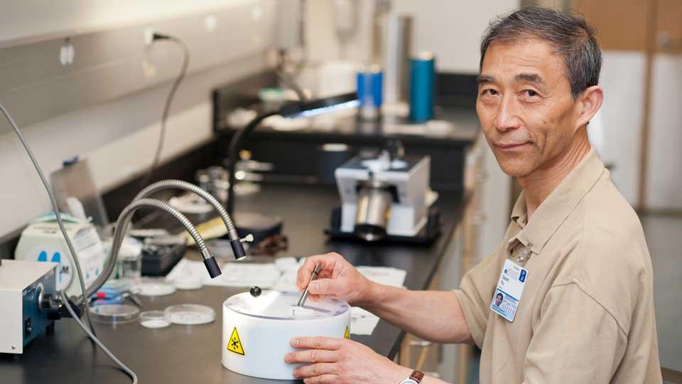 Researcher Xiong (Sean) Yu