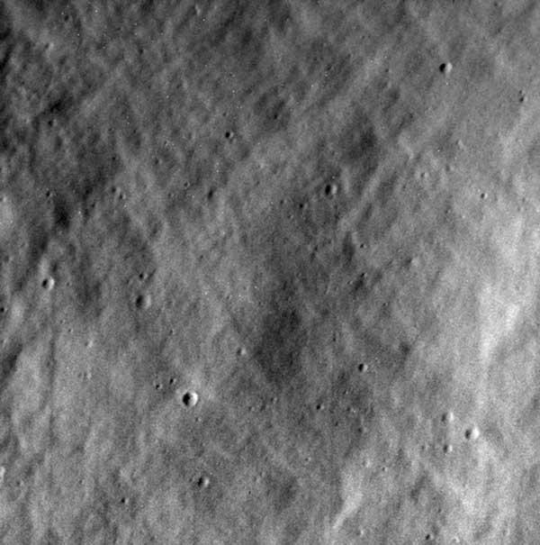 Messenger Last Image of Mercury: Credit-NASA