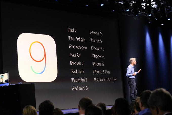 iOS 9 WWDC