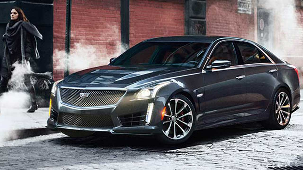 2016 Cadillac CTS-V is BIG improvement with BIG horsepower
