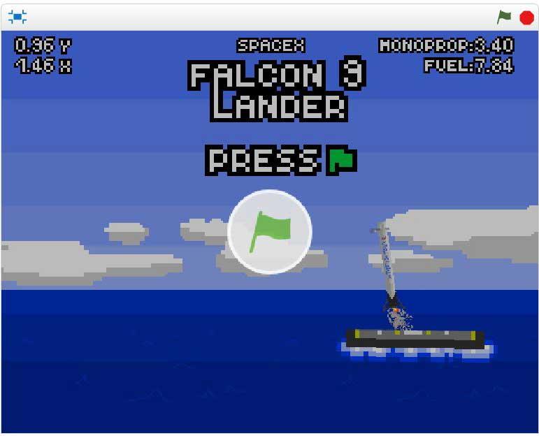 Falcon-9-Lander-game