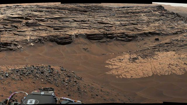 NASA Curiosity Rover spots high concentrations of silica ...
