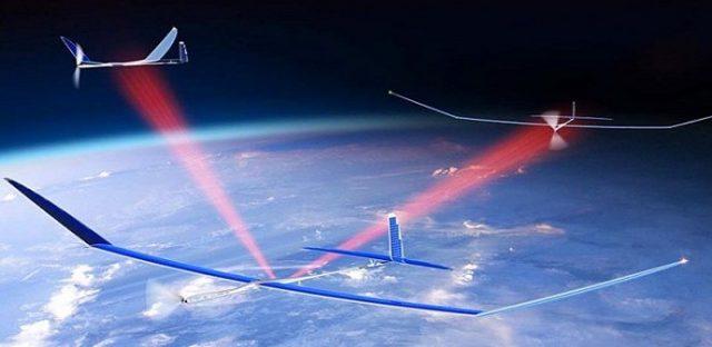 Google Project skybender internet drones