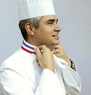 Benoit Violier, award-winning chef
