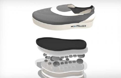 Gravity defying shoes to simulate moonwalk developed by U.S startup company