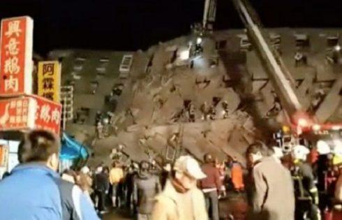 Photos: 6.4 magnitude earthquake rocks Taiwan, Killing at least 3