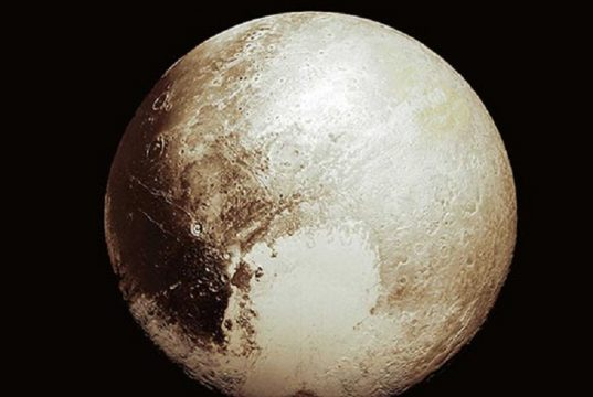 Signs Of Frozen Lake Found In Pluto