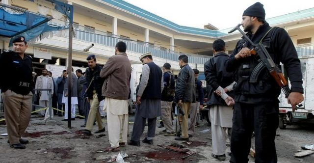pakistan easter bomb blast