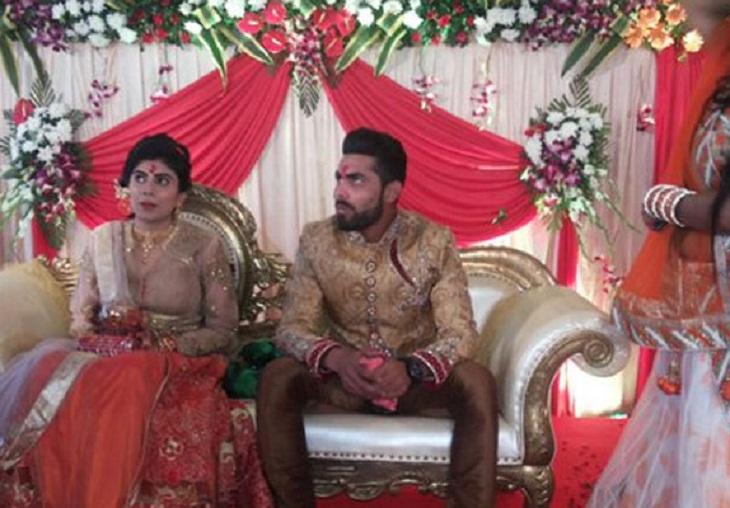 Ravindra jadeja marriage pics (1)