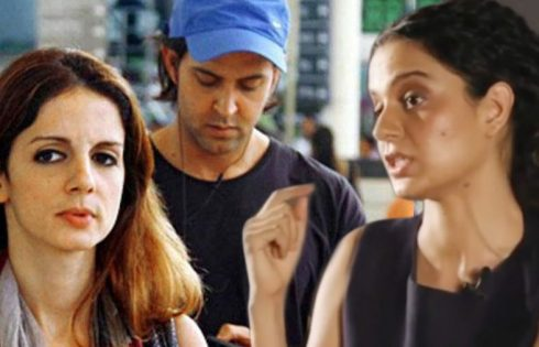 kanagna Suzanne and Hrithik