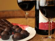 wine and chocolate