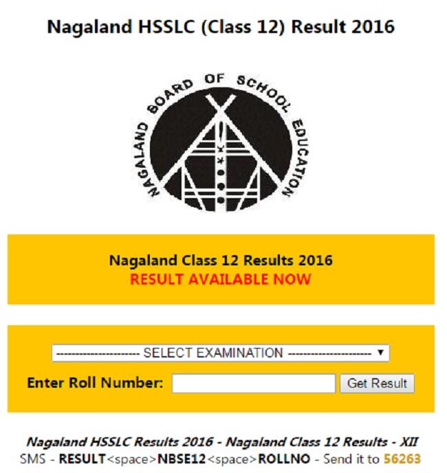 nagaland results 2016